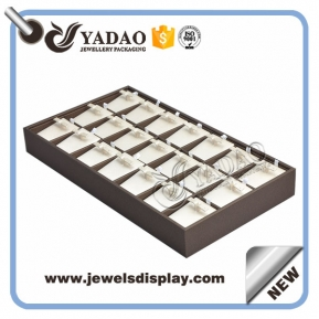 China designable and stackable custom hand-made earring trays factory