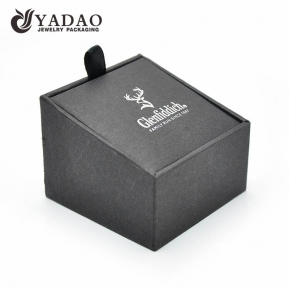 China fine fashionable OEM, ODM available handmade wholesale customized brand paper box for cufflinks factory
