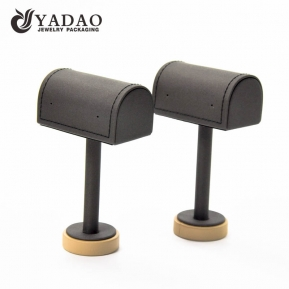 China ingenious original new design wholesale funny mdf leather jewelry display stands/jewelry holder factory