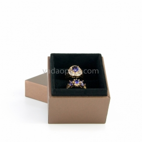 China jewelry box with seperated lid factory