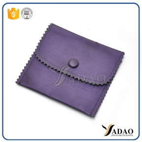 China luxury mini soft velvet material wholesale cute nice fair price velvet pouch with button for any jewels factory
