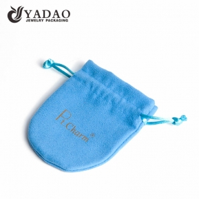 China nice tiny wonderfule delicate elegant high quality luxurious fair price MOQ sale velvet/suede gift pouch factory