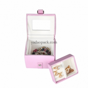 China travel jewelry travel case box for easy taken factory