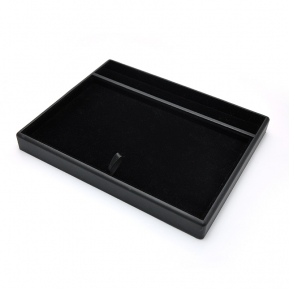 China wooden display tray jewelry display serving tray movable display pad for jewels selection  factory