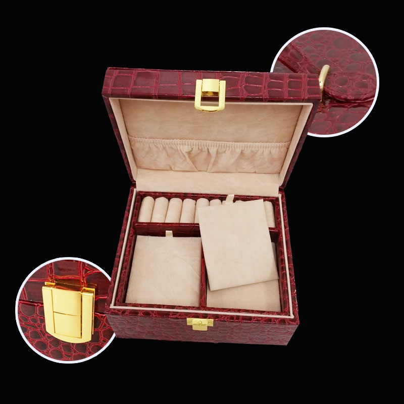 Jewelry Box Pu Leather Jewelry Box Leather Packaging Box