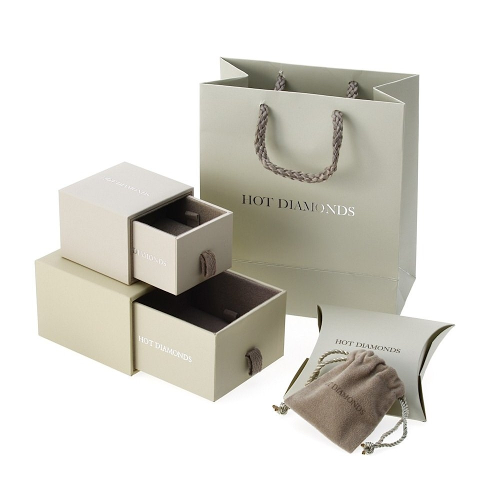 luxury custom design paper jewelry box sets jewelry