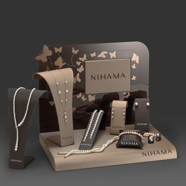 jewelry display supplier luxury unique customized jewelry display set for 2929