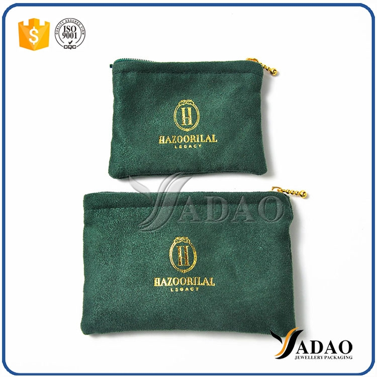Velvet pouch gift pouch jewelry packaging pouch for High end client gifts