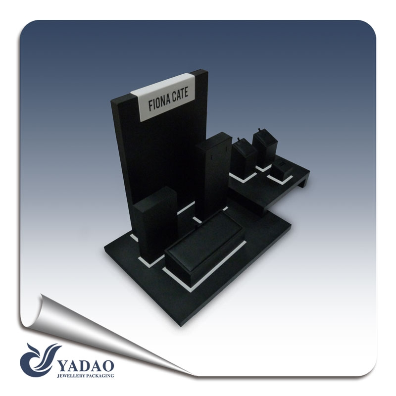 Faux Leather Display Stand Leatherette Jewelry Display