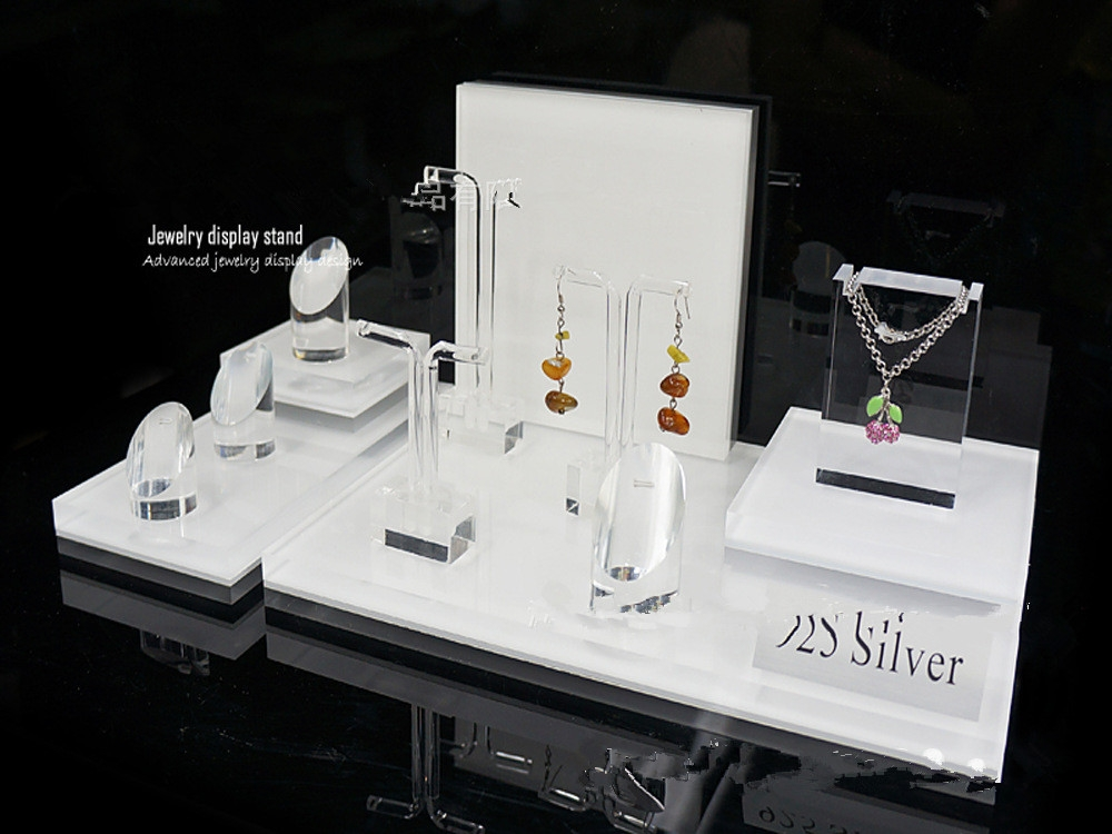 Custom Exhibition Stand Near Me : Acrylic display stand jewelry cosmetic