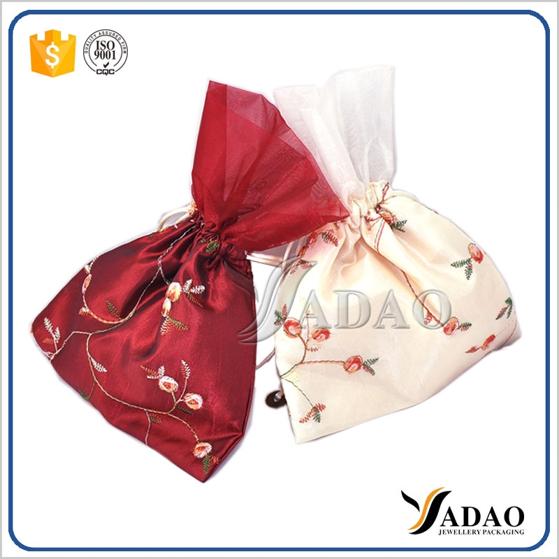 Drawstring Small Pouch Satin Jewelry Pouch Wholesals Pouch