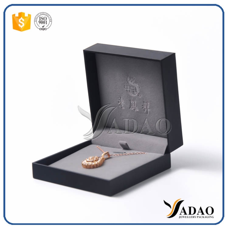 Ring box plastic ring pendant box jewels packaging box for High end client gifts