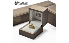 Custom jewelry box from Yadao jewelry packaging